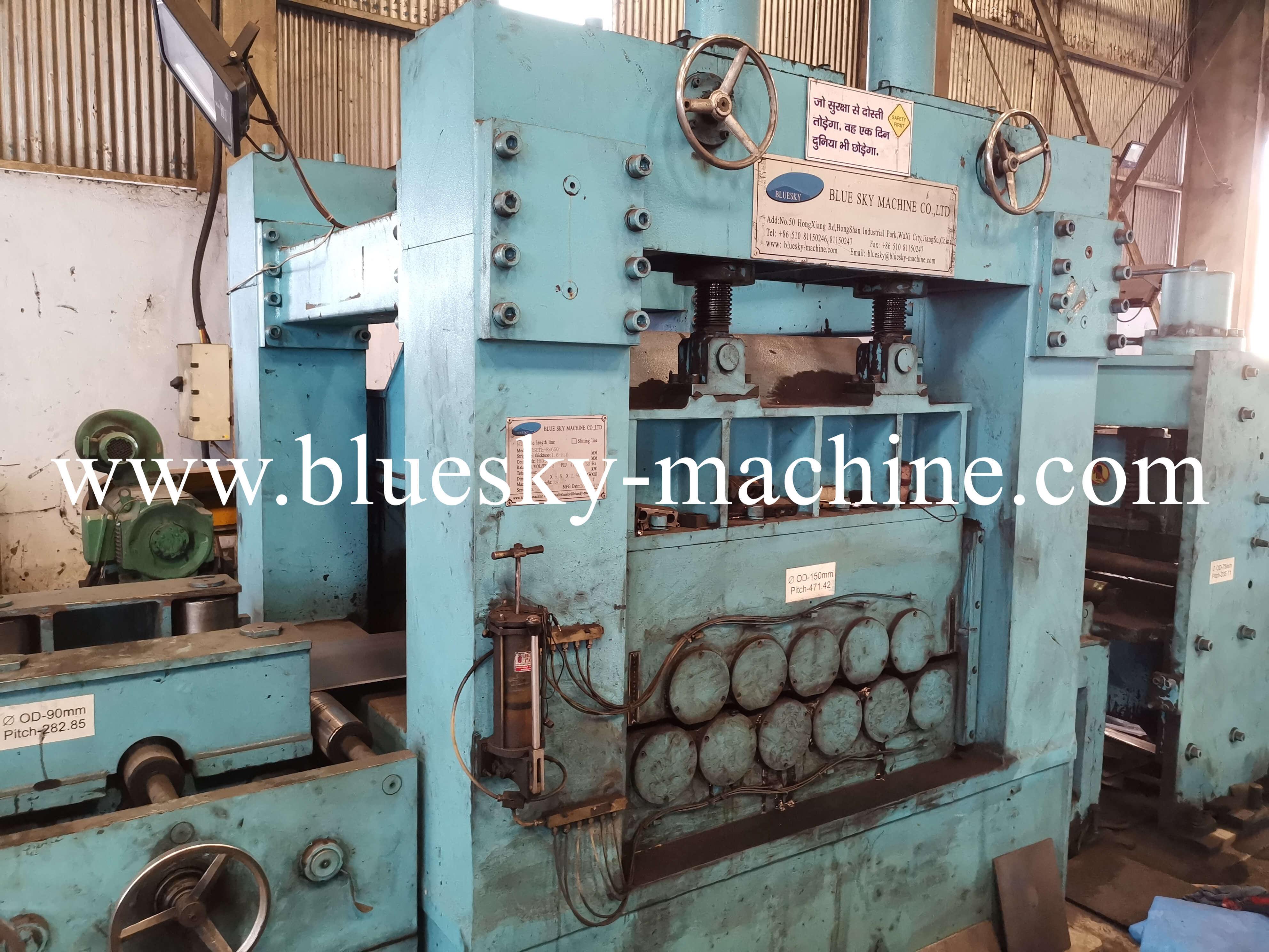 HR Sheet Coil Cutting Machine Hydraulic Coil Car
