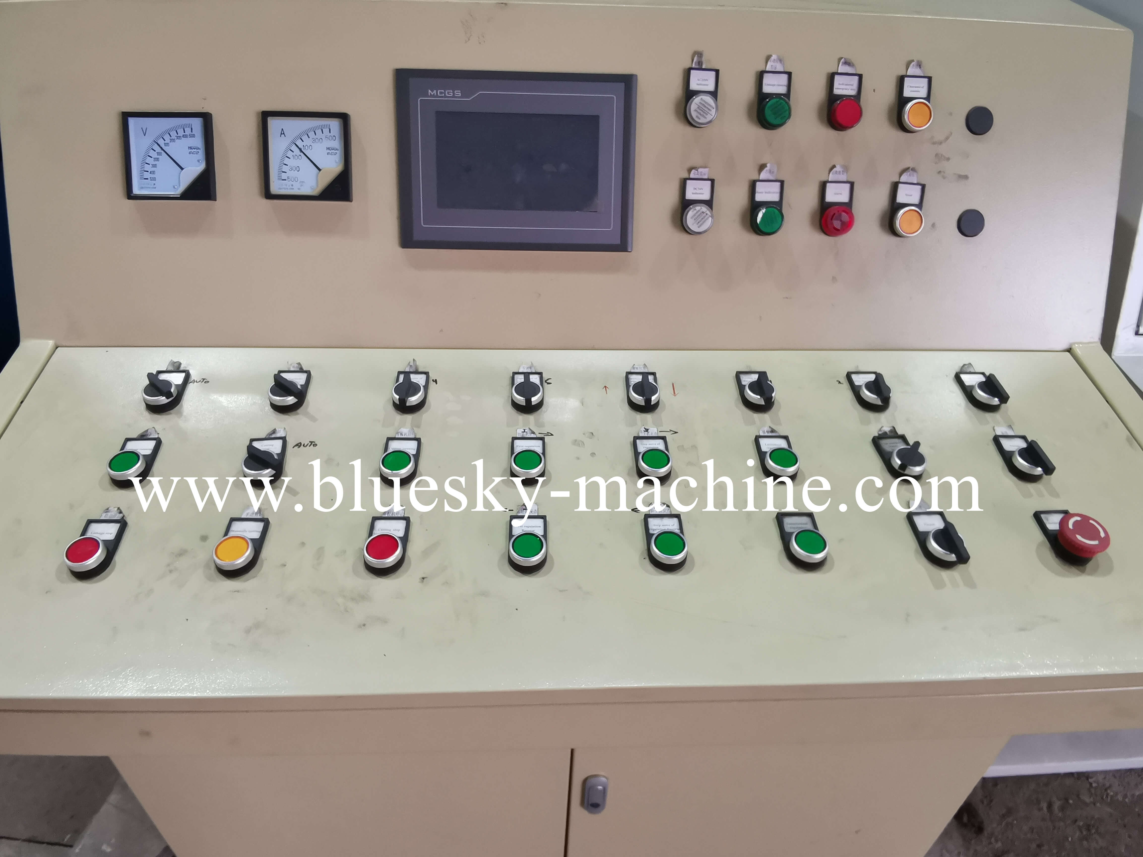 HR Sheet Coil Cutting Machine Electrical Control System
