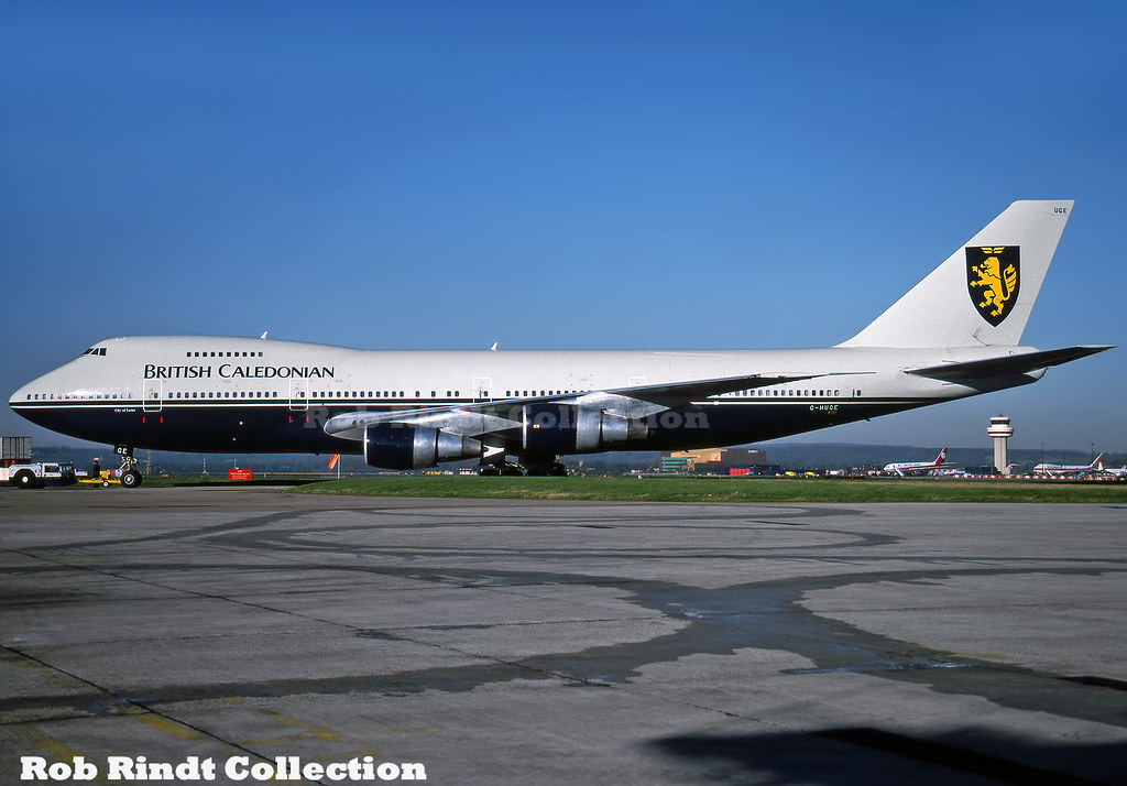 British Caledonian B747-2D3BM G-HUGE