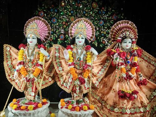 ISKCON Rajkot Deity Darshan 14 Dec 2019