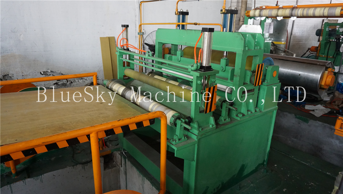 ss slitting machine separator unit