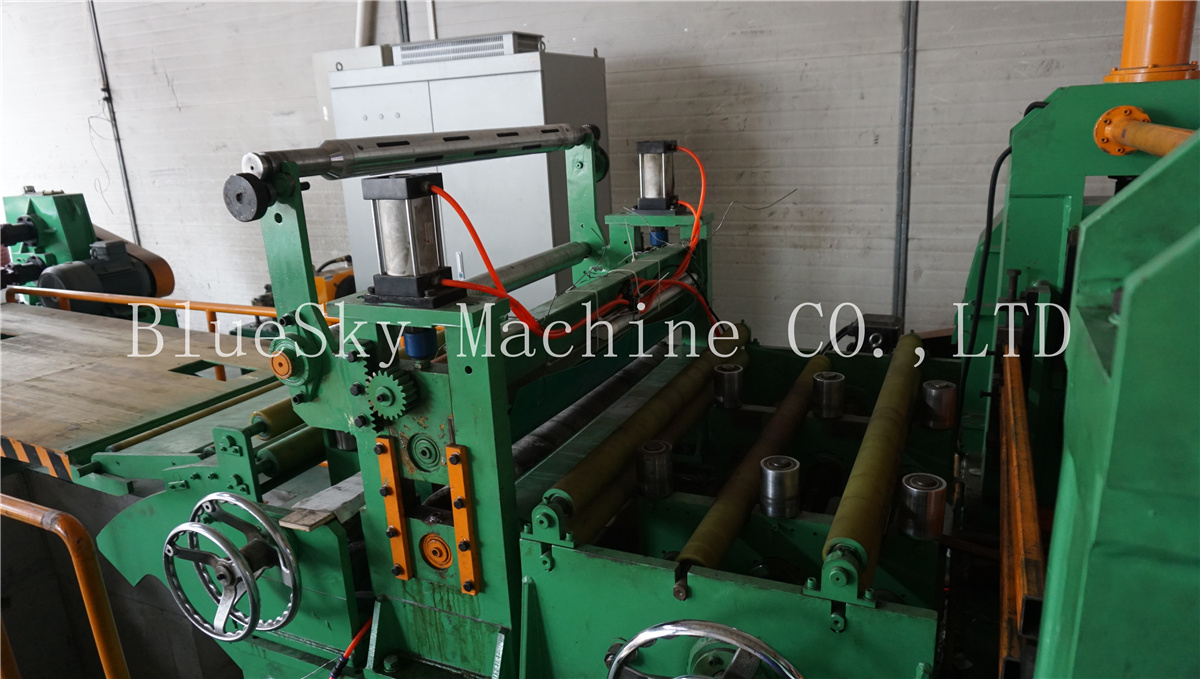 ss slitting machine damping tension unit