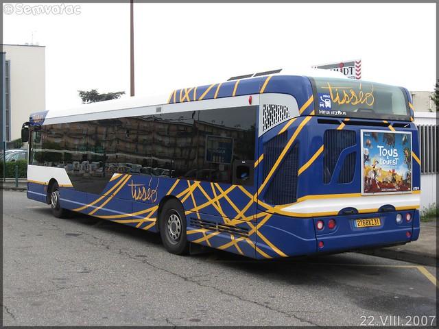 Heuliez Bus GX 327 – Tisséo – Réseau Urbain / Tisséo n°0709