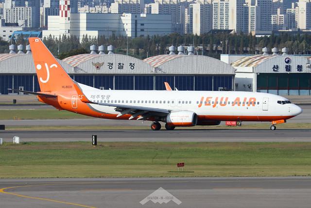 HL8031  -  Boeing 737-8GJ (WL)  -  Jeju Air  -  GMP/RKSS 6/10/19