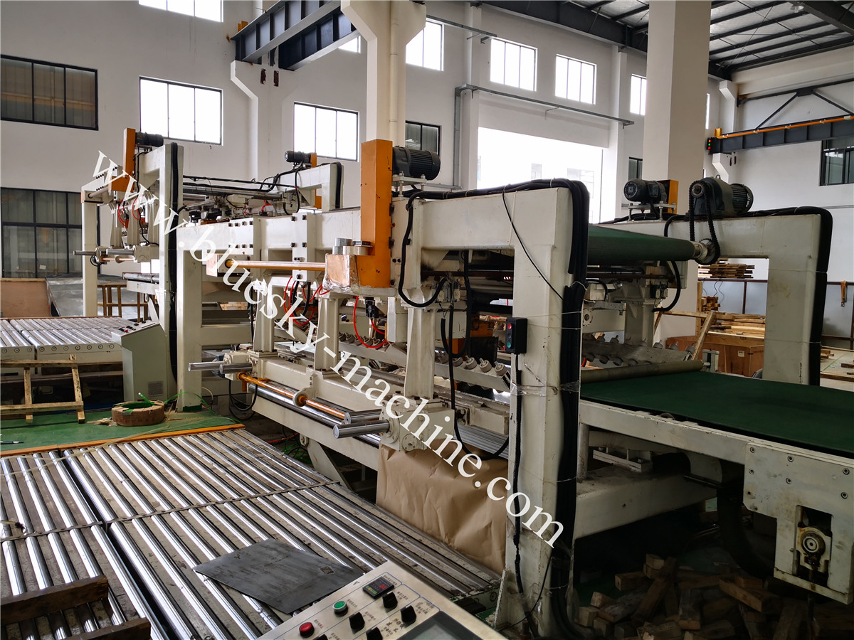 Fly Shear CR Steel Cut To Length Line Machine BSRCL-(0.3-1.5)×1250 mm Unloading roller worktable