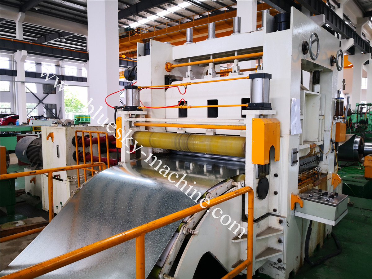 Fly Shear CR Steel Cut To Length Line Machine BSRCL-(0.3-1.5)×1250 mm 6 hi leveler(21 nos)