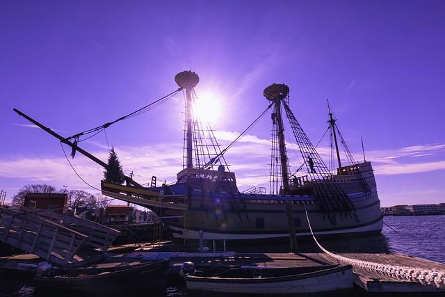 Readying Mayflower II