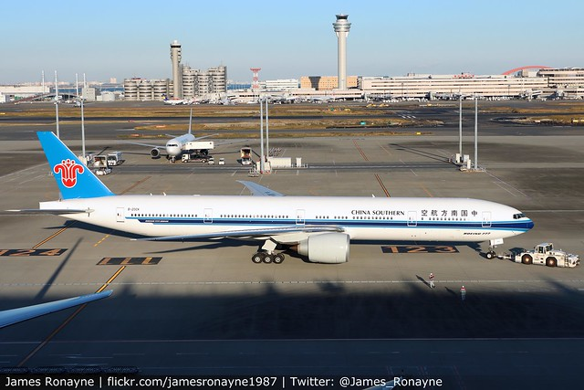 B-20CK | Boeing 777-31BER | China Southern Airlines