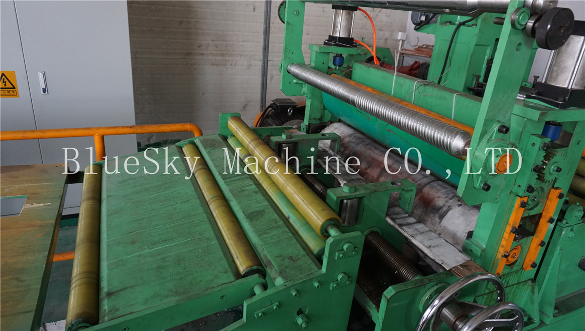 ss slitting machine pinch rolls