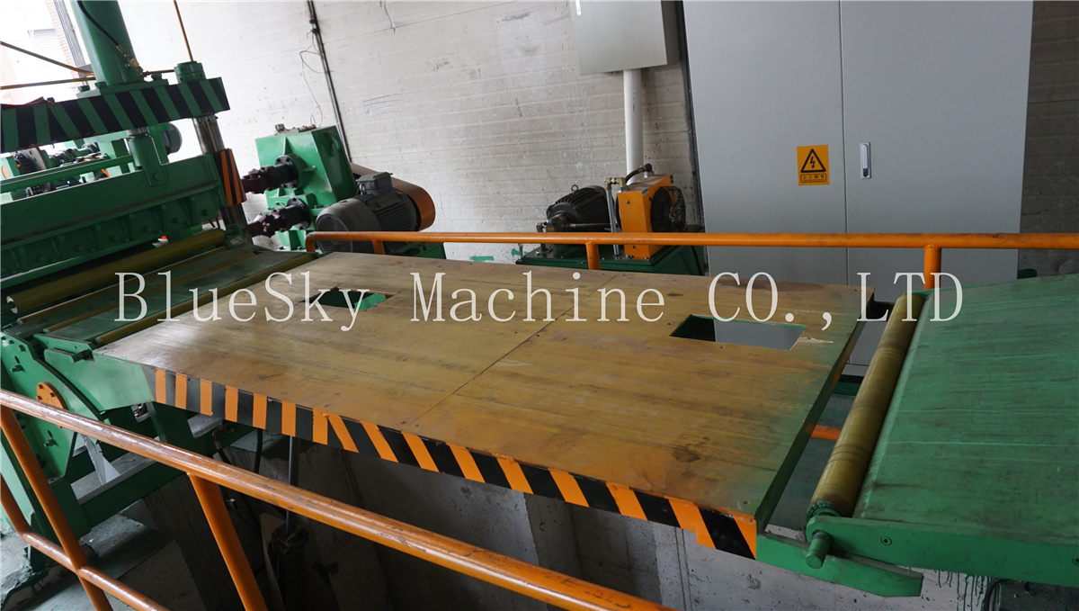 ss slitting machine hydraulic loop pit Ⅰ