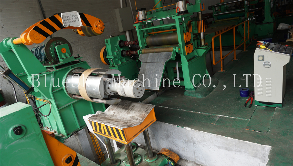 ss slitting machine material platform