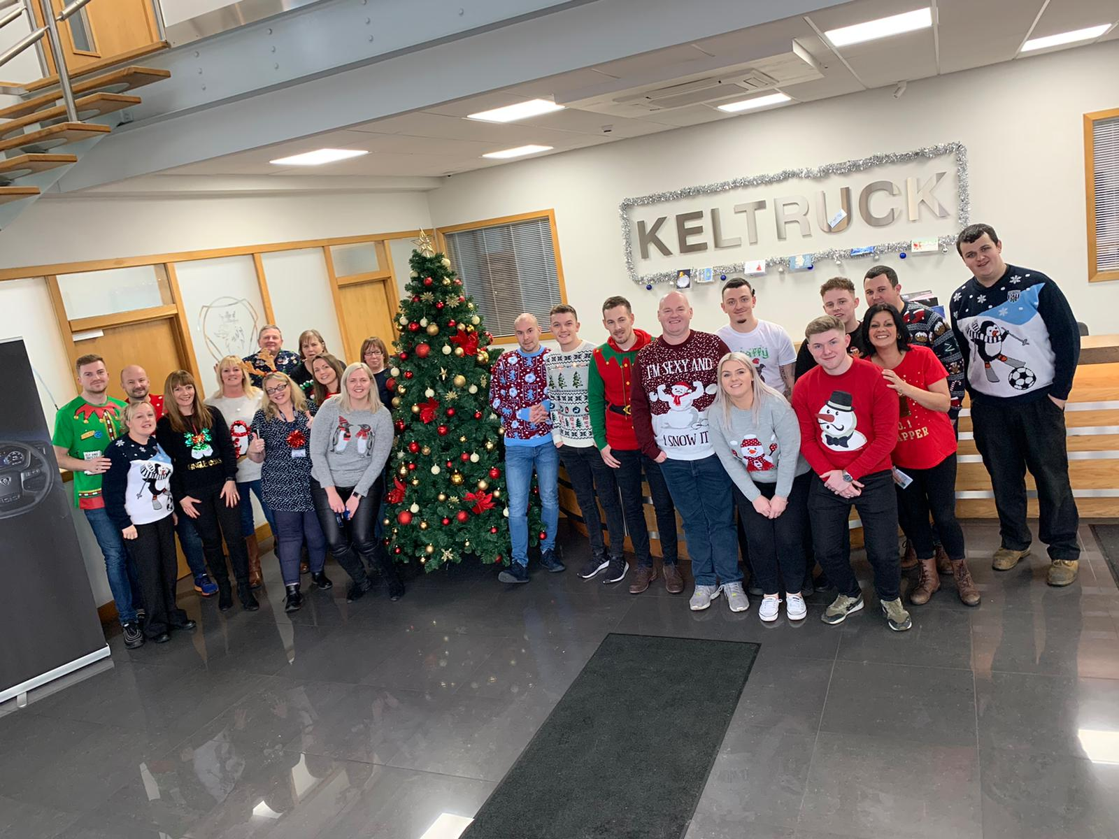 Christmas at Keltruck Scania