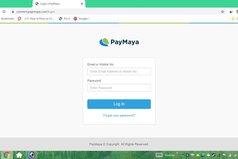 Pay with PayMaya