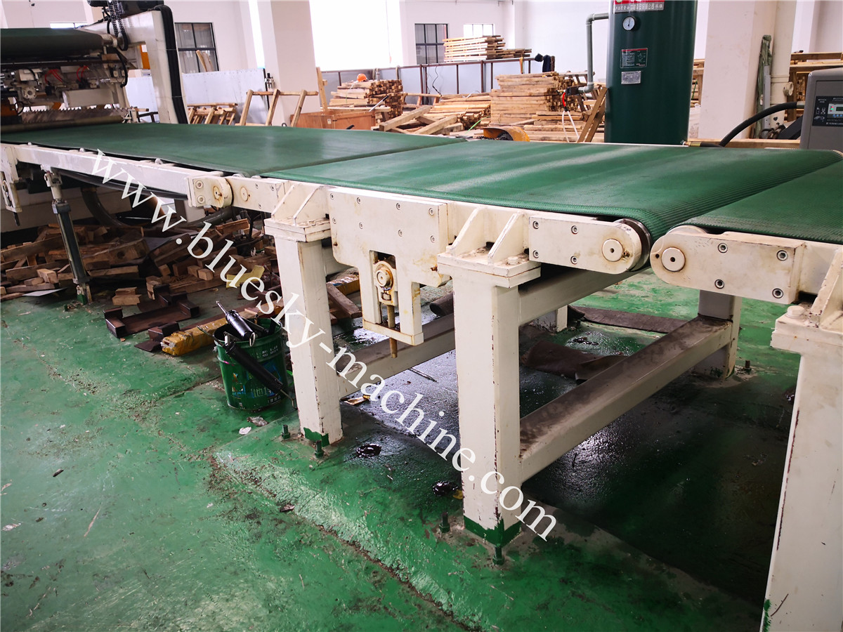 Fly Shear CR Steel Cut To Length Line Machine BSRCL-(0.3-1.5)×1250 mm conveyor