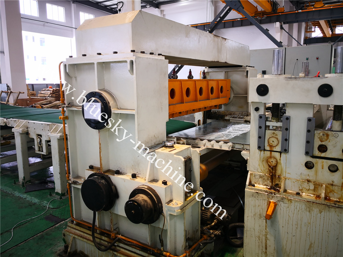Fly Shear CR Steel Cut To Length Line Machine BSRCL-(0.3-1.5)×1250 mm NC feeder