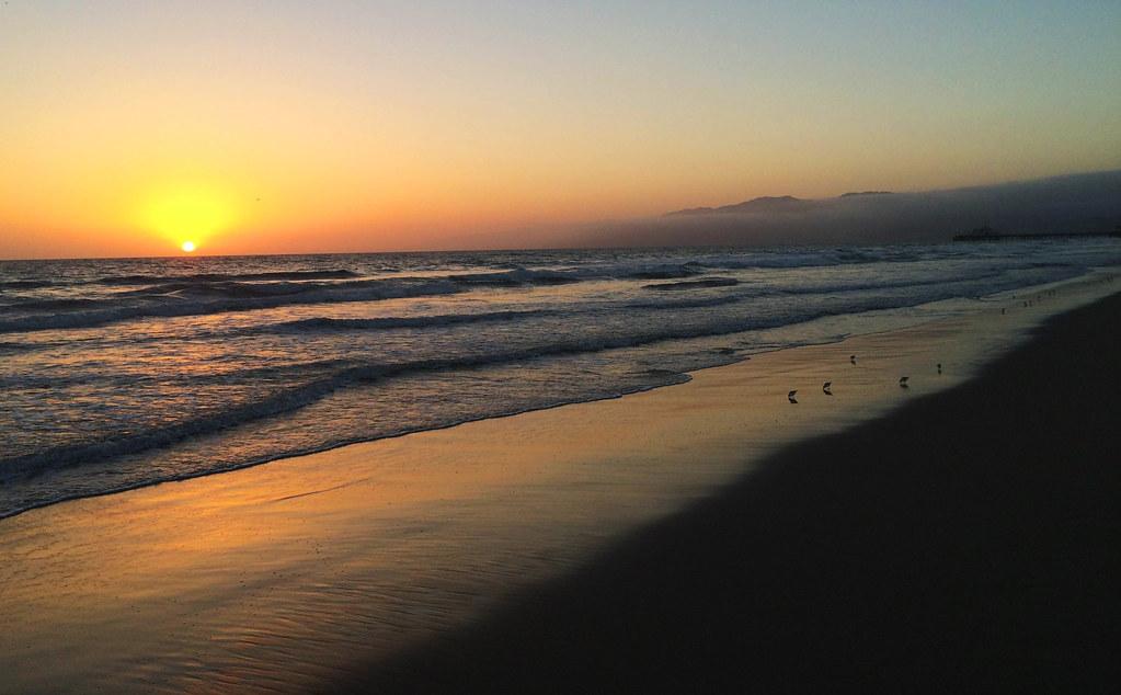Travel Tips For California: Santa Monica Beach, CA, USA
