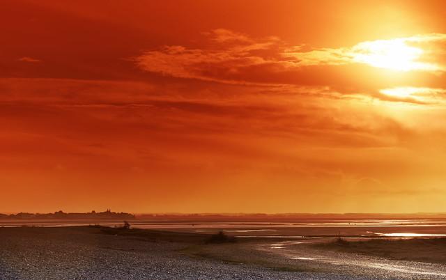 Bay of Somme sunrise