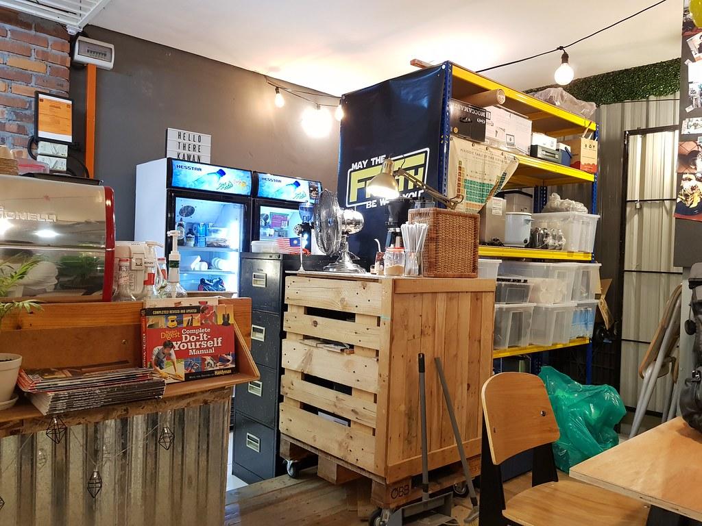 红菲茶拿铁 Rooibos Red Latte rm$9 @ Froth Cafe, Summit USJ1