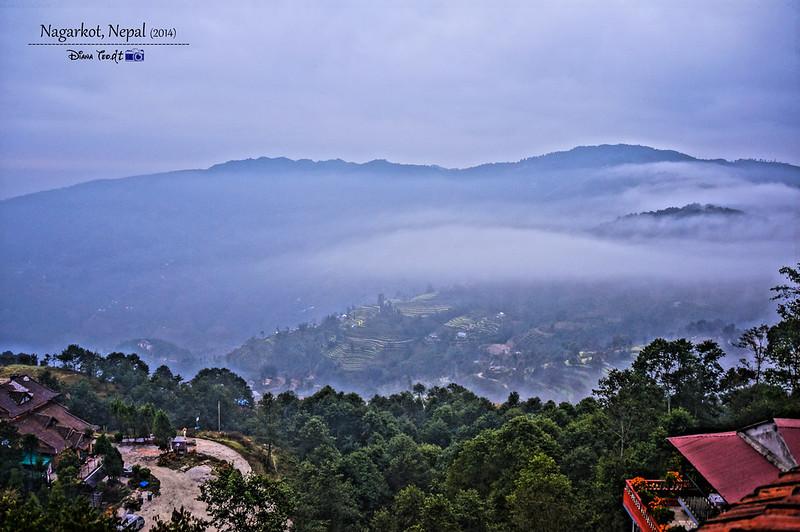 2014 Nepal Nagarkot Sunrise Viewing Point