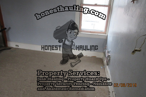 cleaning out foreclosed houses cleveland