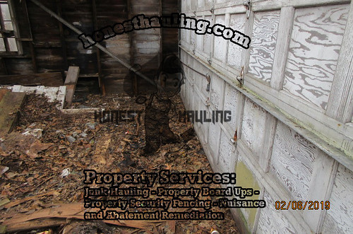 clean up foreclosed homes cleveland