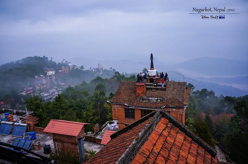 2014 Nepal Nagarkot Sunrise Viewing Point 2