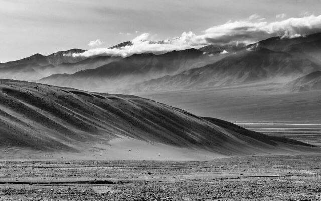 Death Valley in BW