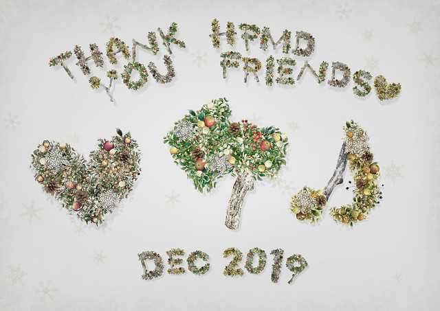 [Group Gift] HPMD* Winter Letter Wreath - 3 marks