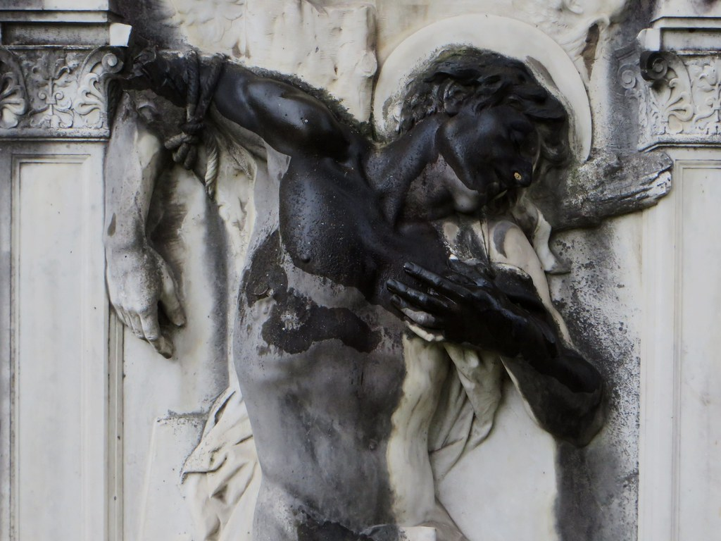 Dans le square Dom Bedos, , Bordeaux, Nouvelle-Aquitaine, France.