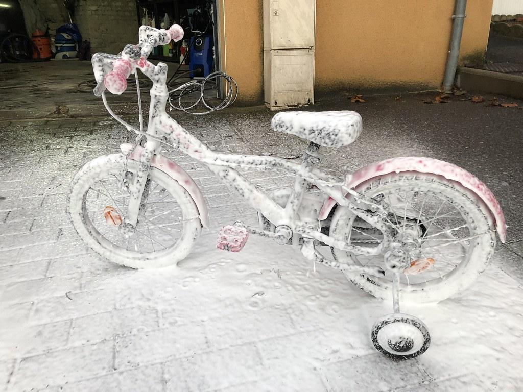 Album de préparation de vélo