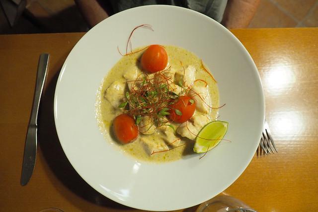 Thai green curry, Flavors, Palmela
