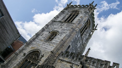 Church Tower of St Martin Le Grande, York