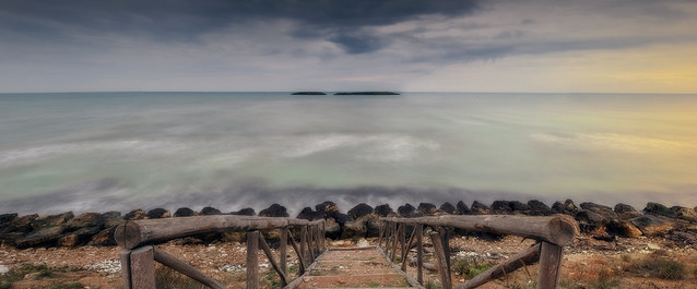 BRINDISI when the bad weather can't stop you. f16-10sec-iso100 GND MEDIUM 3STOP ND 6 STOP