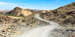 Road towards Angola-Namibia Border