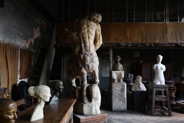 Atelier d'Antoine Bourdelle