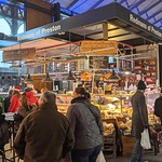 Busy Redmans food stall at Preston Market
