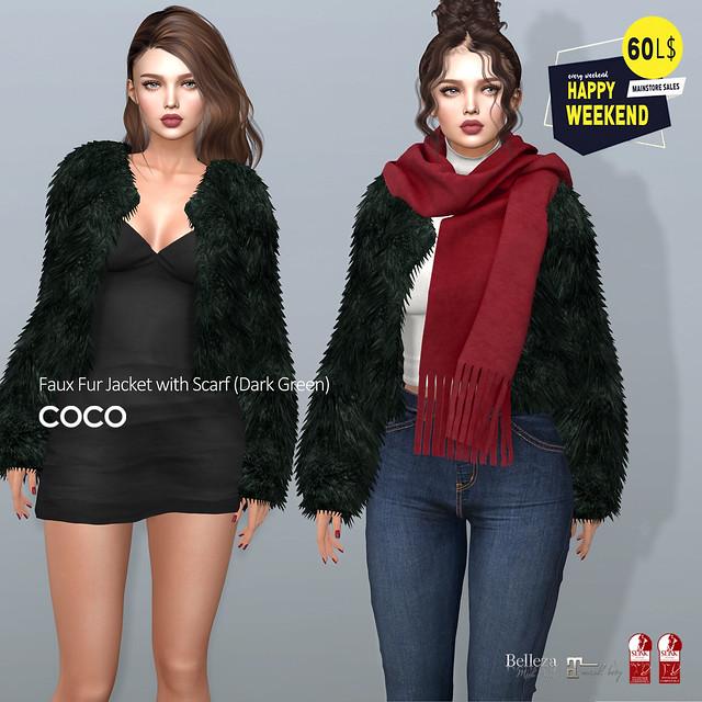 60L$ Happy Weekend @COCO