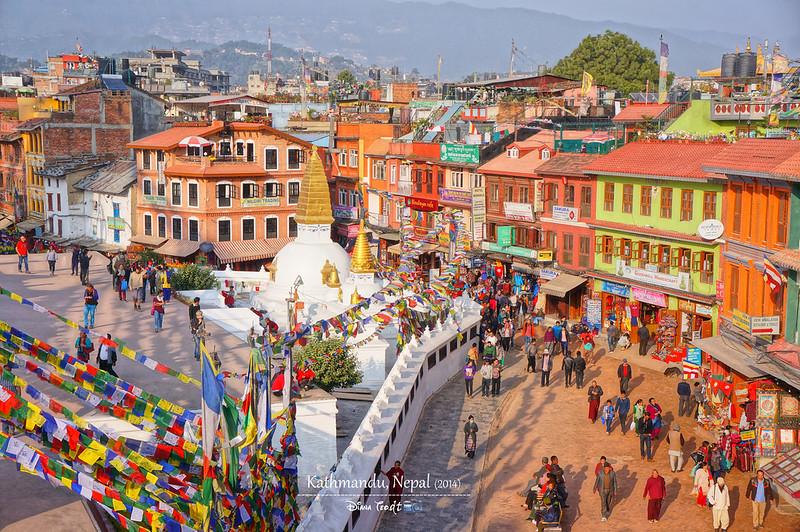 2014 Nepal Kathmandu Boudhanath Stupa 6