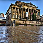 Even in the cold and damp - Preston's Harris Museum still looks magnificent