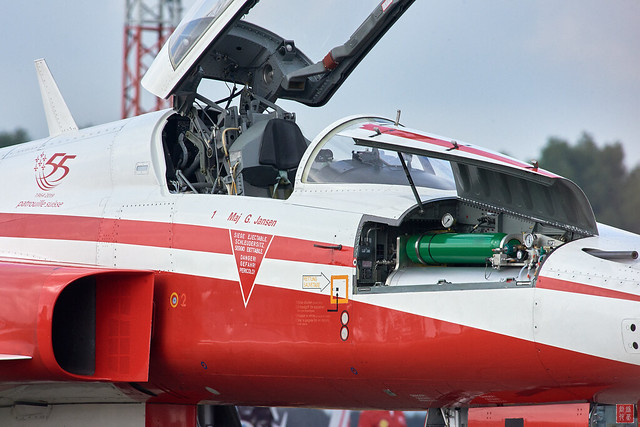Patrouille Suisse at Open Days RNLAF 2019