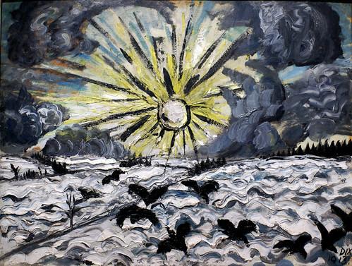 frankfurt städel makingvangogh deutschland germany hessen hesse ottodix sonnenaufgang sunrise expressionismus expressionism