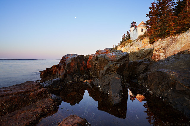 Bass Harbor Lighthouse Sunrise, Acadia National Park