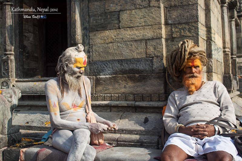 2014 Nepal Kathmandu Sadhus 2