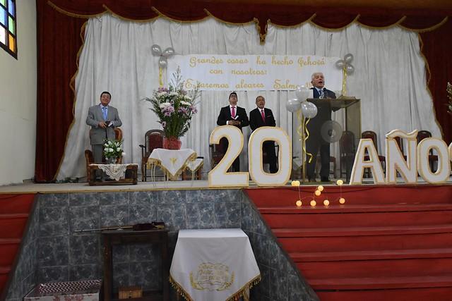 Celebración 20° Aniversario IMPCH Teno
