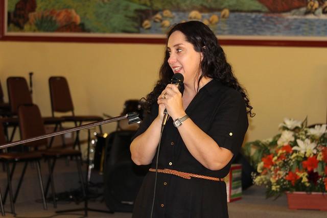 Pastoras del Sector 15 en Clase de Dorcas  IMPCH Florida