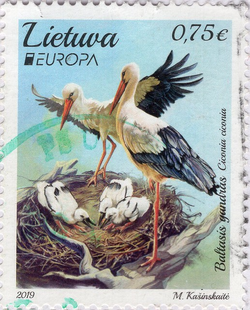 Stamp from Lithuania.