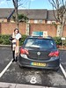 Congrats to Laeticia on passing her driving test this afternoon at Isleworth...Well done!!!!:red_car::red_car::red_car::red_car: