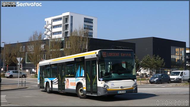 Heuliez Bus GX 327 – RD Lorient Agglomération (RATP Dev)  / CTRL (Compagnie de Transport de la Région Lorientaise) n°358