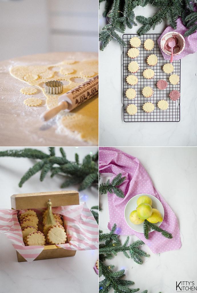 Biscotti al bergamotto e cioccolato ruby