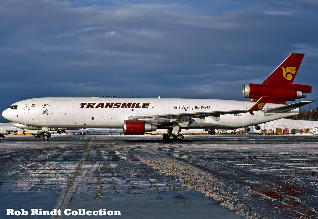 Transmile Air Services MD-11F 9M-TGS